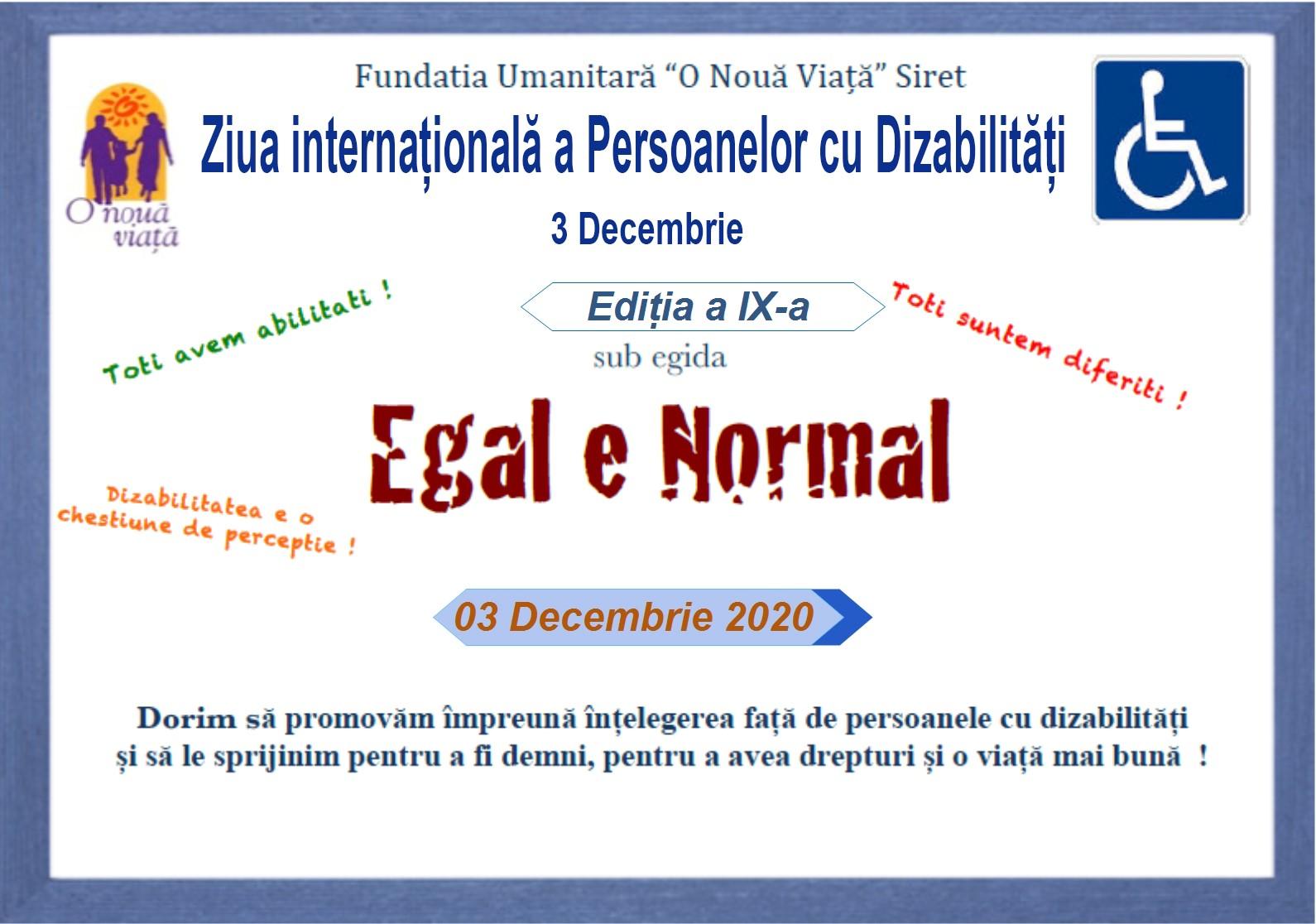 Egal e Normal
